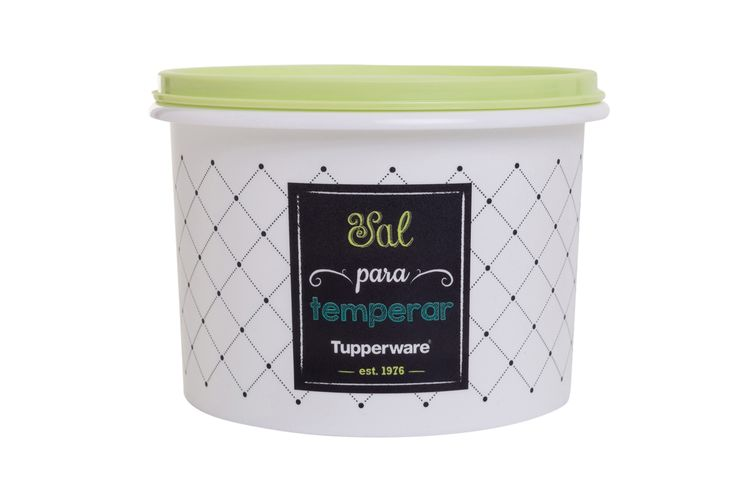 Tupper® Caixa Sal Bistrô 1.3 kg - Institucional